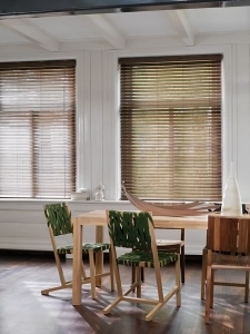 Brushed Aluminium Texture Blinds