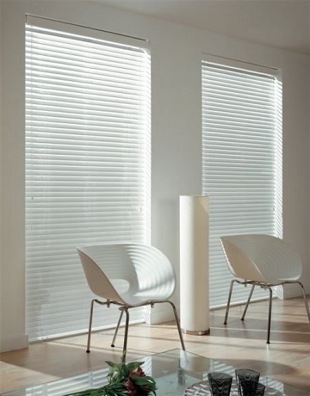 Privacy Wooden Venetian Blinds in Essex