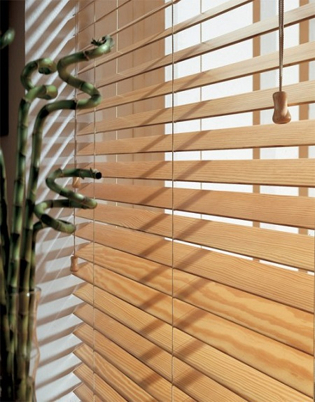 Privacy Wood Venetian Blinds in Hadleigh, Essex