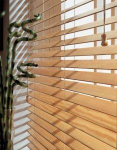 Privacy Wood Venetian Blinds in Hadleigh, Essex