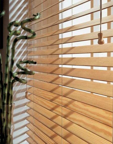 Luxaflex 174 Wooden Blinds Essex Cherry Bamboo Teak