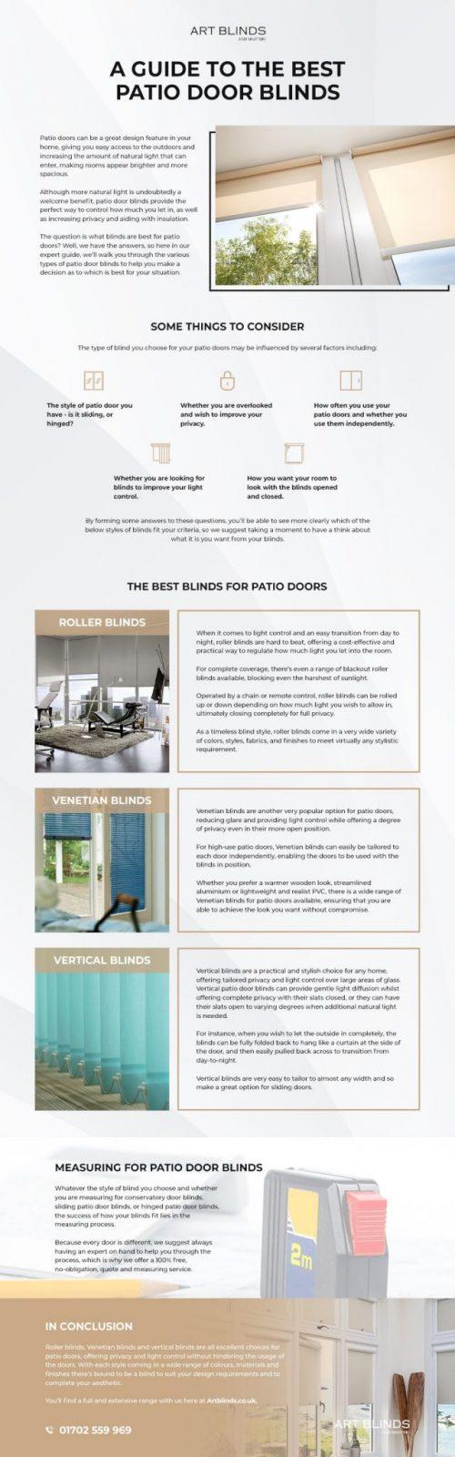 Best Patio Door Blinds